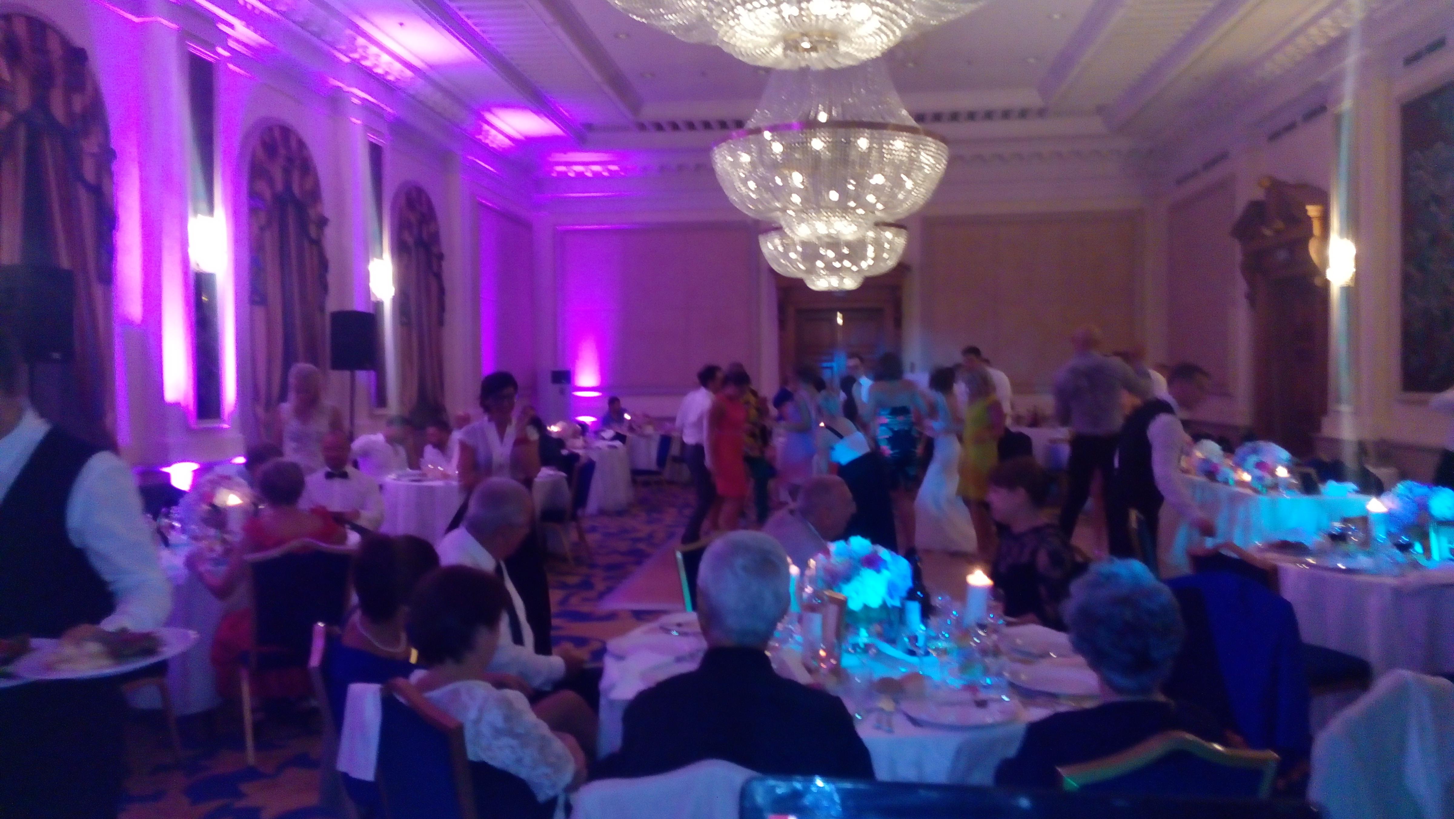 осветление за сватби