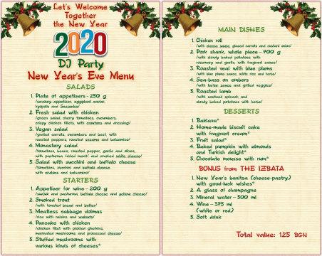 NEW YEAR 2020 in Izbata Tavern