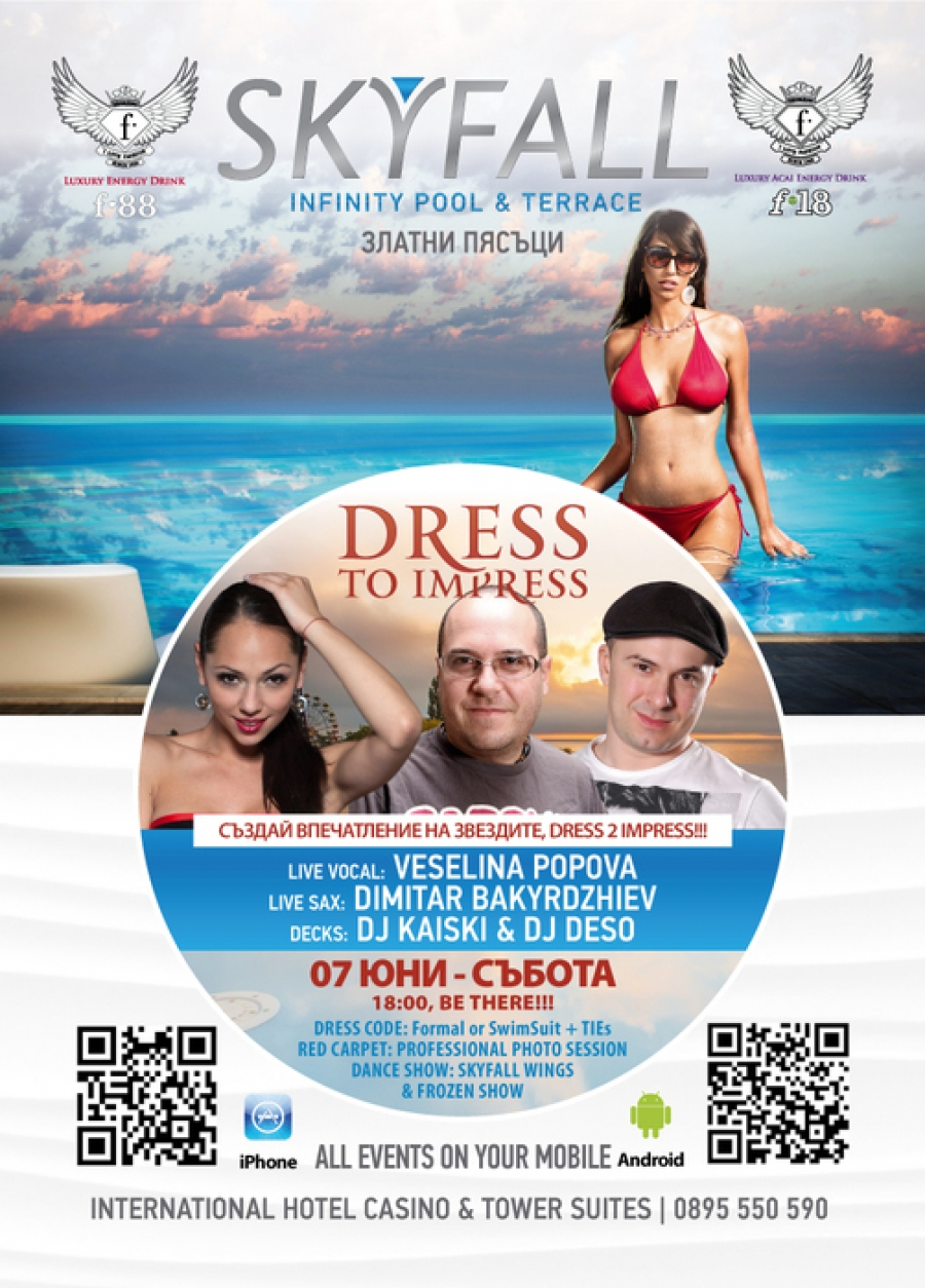 Dress 2 Impress Sunset Party